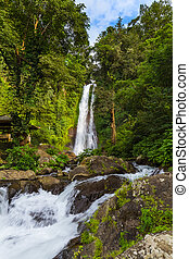 Gitgit Waterfall - Bali island Indonesia - Gitgit Waterfall...