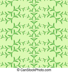 Flowers seamless background card
