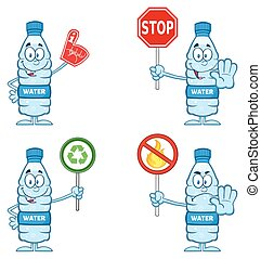 Water Plastic Bottle Collection 5 - Water Plastic Bottle...