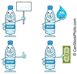 Water Plastic Bottle Collection 6