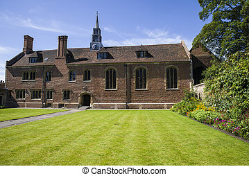 Magdalene College in Cambridge - A view of one of the...