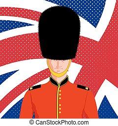 Royal British guard