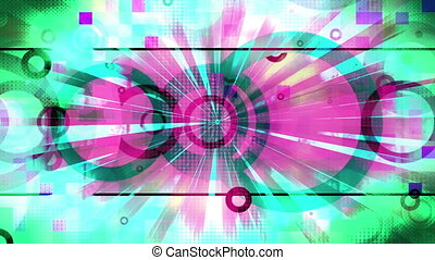 VJ textured new style retro loop - Animated backgrounds VJ...