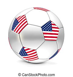 Soccer Ball/Football United States of America