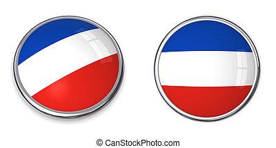 Banner Button Schleswig-Holstein/Germany - button style...