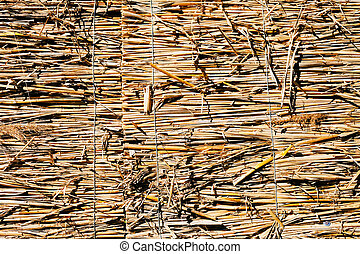 thatch on the meadow