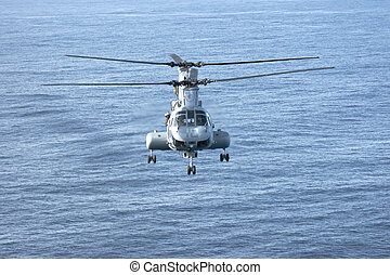 CH-46E Marine Corps Helicopter - SAN DIEGO, CA - FEB 11: A...