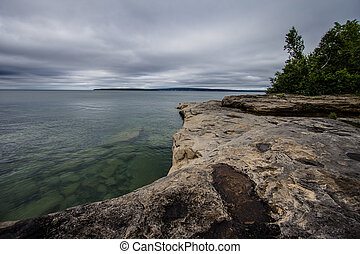 Sandstone Beach On Lake Superior