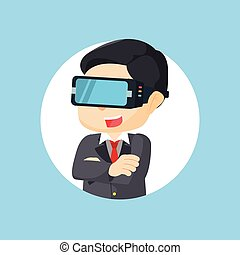 virtual reality illustration design