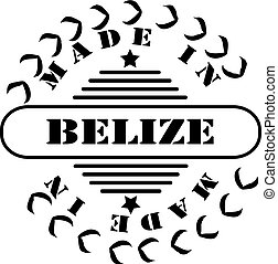 Stamp Made in Belize