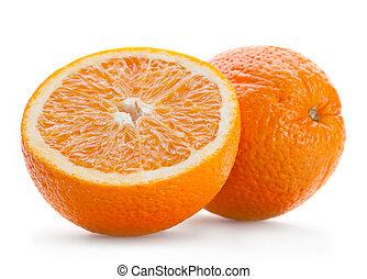 Orange citrus fruit