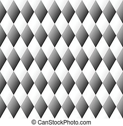 seamless diamond pattern in black and white