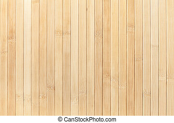 Texture of wooden light background. Bamboo traditional napkin for a table.