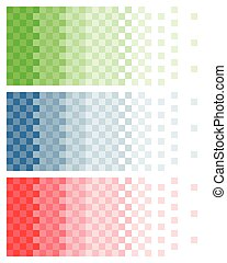 pixelated colored gradient, background, template,...