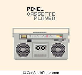 Pixel MC player - Pixel Magnetic cassette stereo Hi-Fi...