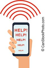 signal for help