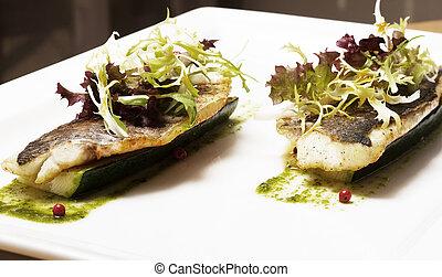 filet herring - Fried filet herring
