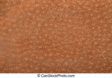 Natural suede leather background - Close up of natural brown...