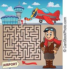 Maze 3 with aviation