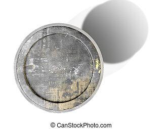 Moonshine Jar Vintage - A 3D render of a a vintage moonshine...
