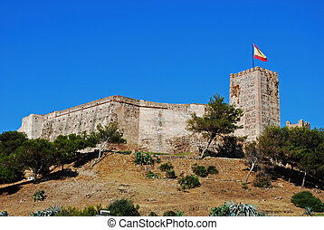 Sohail Castle, Fuengirola. - View of Sohail castle,...
