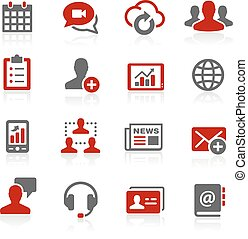 Business Network Icons - Redico