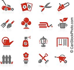 Garden and Gardening Icons - Redico - Vector icons for your...