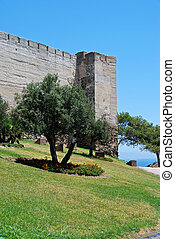 Sohail Castle, Fuengirola - Sohail castle with the castle...