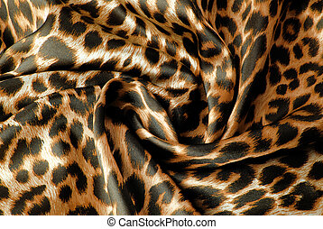 tryck,  leopard, tyg, Struktur
