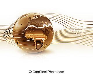 Ouro, planeta