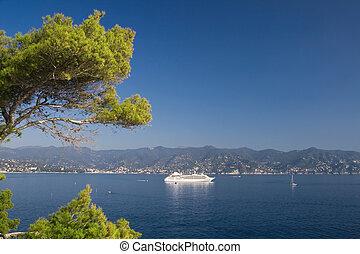Golfo del Tigullio - Landscape of tigullio gulf from...