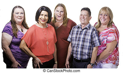 Confident Group of Transgender People - Five Transgender...