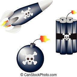 vector explosive set