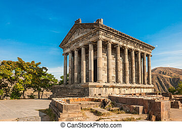 The Hellenic temple of Garni in Armenia