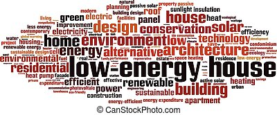 Low-energy house-horizon.eps - Low-energy house word cloud...