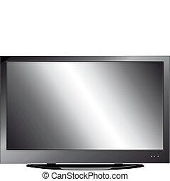 Vector LCD monitor
