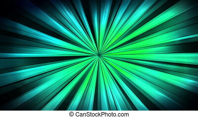 Animated new retro fresh loop green blue black backgrounds