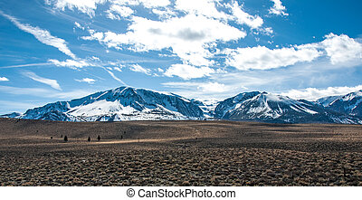 Eastern Sierras - One of the many mountain ranges in the...