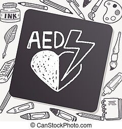 aed doodle