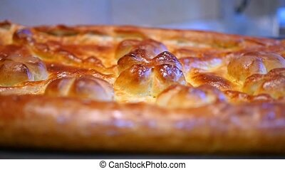delicious freshly made pie