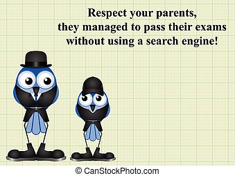 Respect your parents - Comical respect your parents as they...