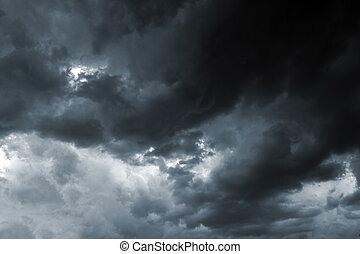 Storm Sky - Beautiful storm sky with clouds, apocalypse,...