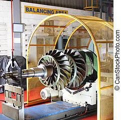 utrustning, Balansering