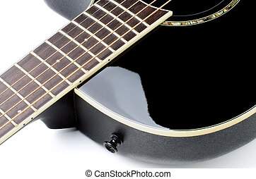 Acoustic Guitar Fingerboard - Fingerboard of Contemporary...