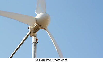 Row of wind power generator