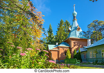 Kuremae Dormition Convent. Estonia - Church of St. Sergius...