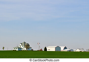 Family Farm Background