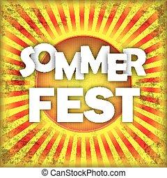 Retro Sun Sommerfest