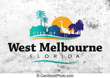 Flag of West Melbourne, Florida