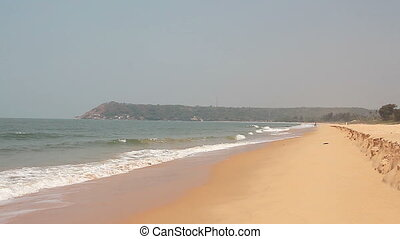 Beautiful beach in Goa